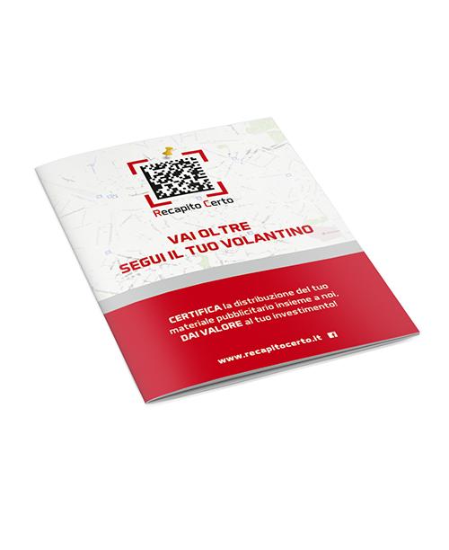 brochure di Recapito Certo