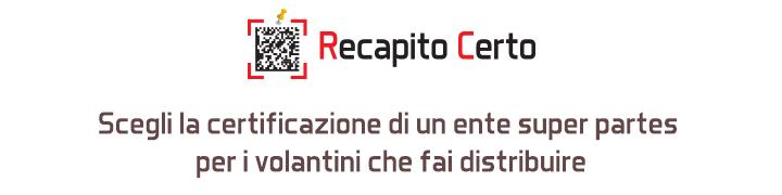banner Recapito Certo